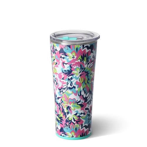 Swig 22 oz Tumbler - Frilly Lilly