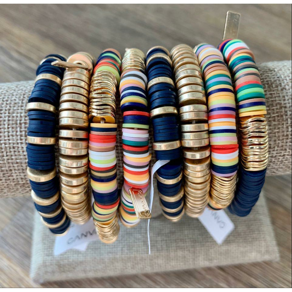 Emberly Color Block Bracelet - Fall Colors