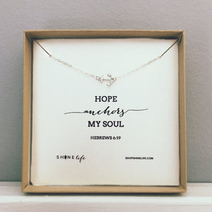 Hope Anchors My Soul Necklace