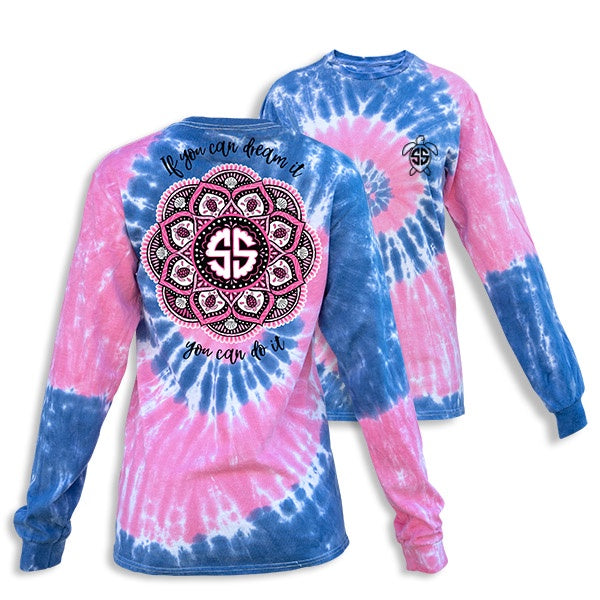Mandala (Taffy) Long Sleeve Simply Southern Tee