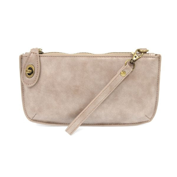 Joy Crossbody Wristlet - Blush Lustre Lux