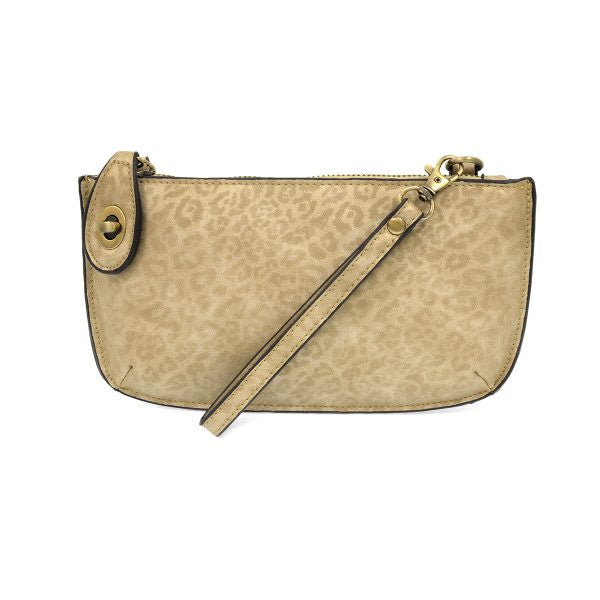 Joy Crossbody Wristlet - Natural Tonal Leopard