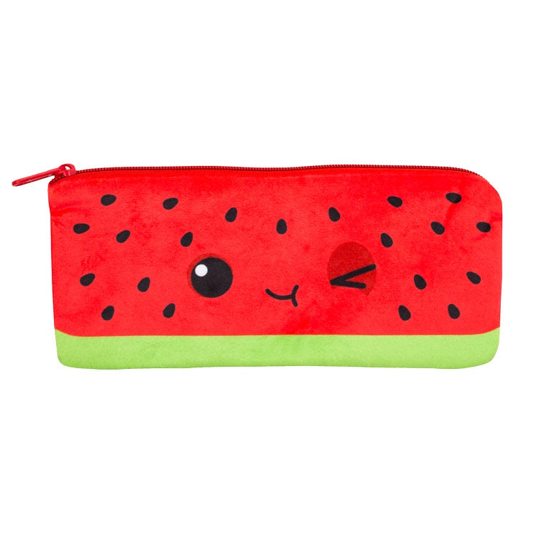 Cutie Fruities Pencil Pouch- Watermelon