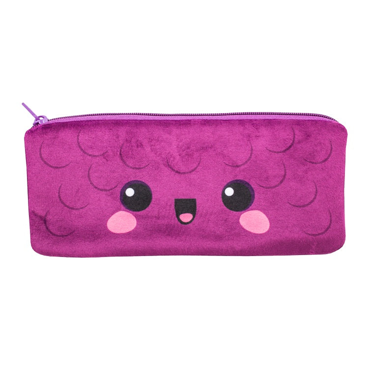 Cutie Fruities Pencil Pouch- Grape