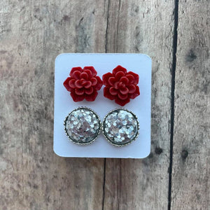 Double Set Medium Earrings