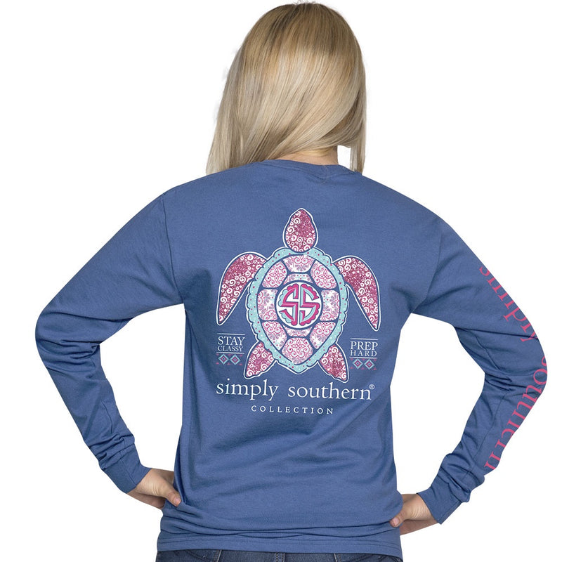 Youth Princess Turtle (Moonrise) Long Sleeve Simply Southern
