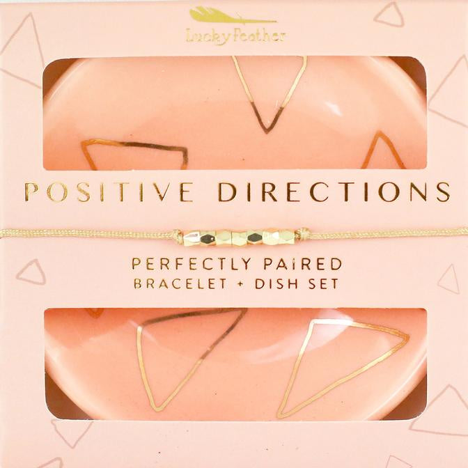 Bracelet + Dish Set - POSITIVE