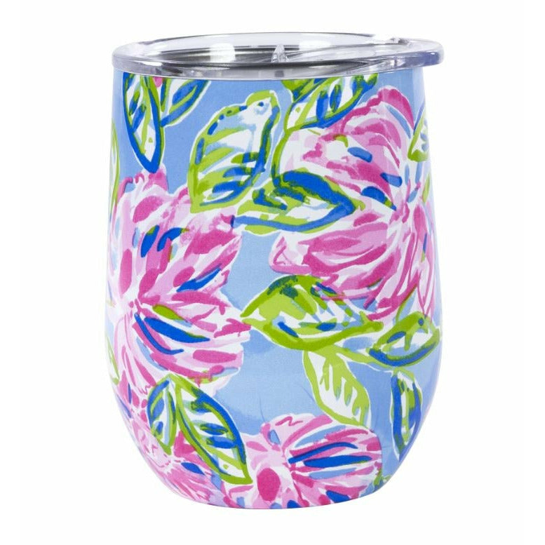 Lilly Pulitzer Insulated Stemless Tumbler - Totally Blossom