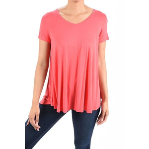 Coral Swing Top