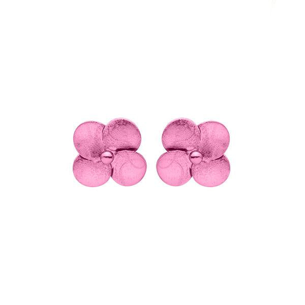 Sheila Fajl Colored Flower Stud Earrings