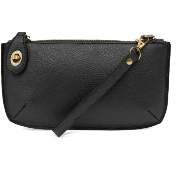 Joy Crossbody Wristlet - Black
