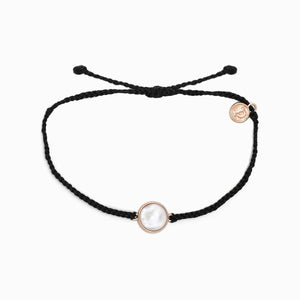 Mother of Pearl Braided Bracelet