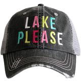 Lake Please (Multicolored) Trucker Hat