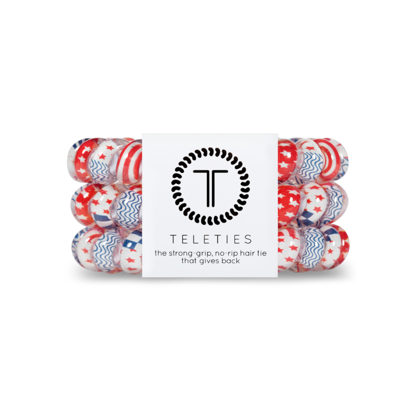 Teleties - Large Hair Ties - All American