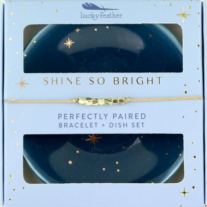 Bracelet + Dish Set - STAR
