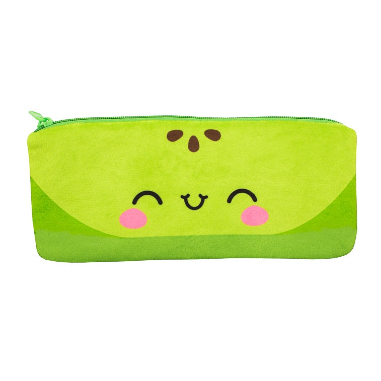 Cutie Fruities Pencil Pouch- Green Apple