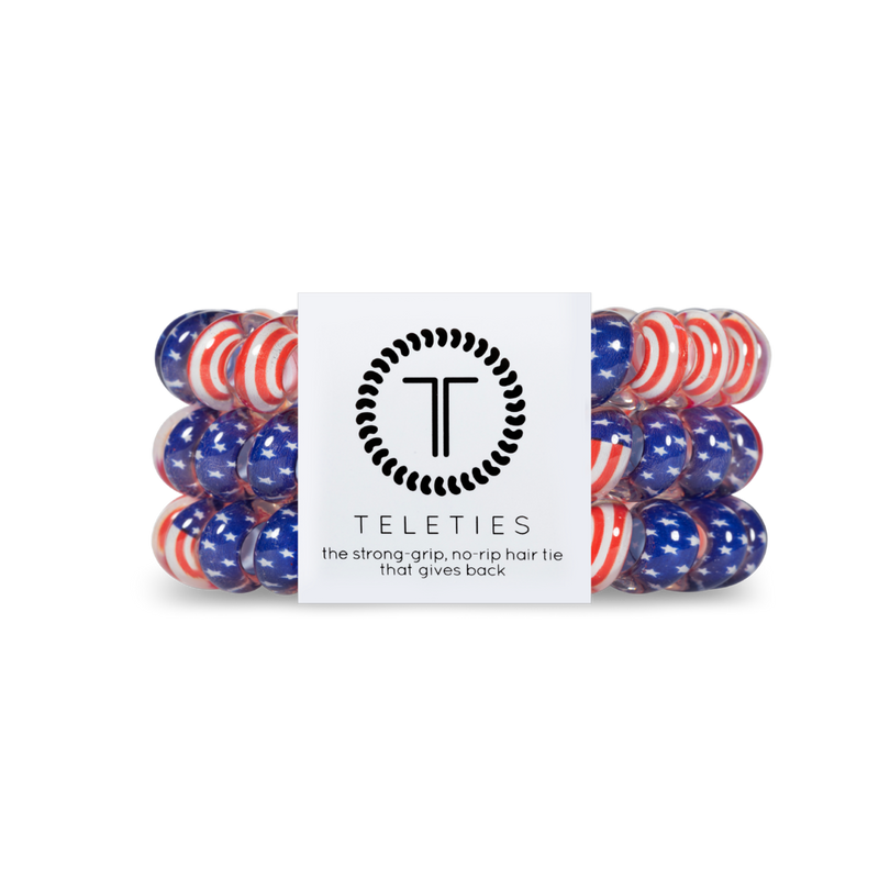 Teleties - Large Hair Ties - 'Merica
