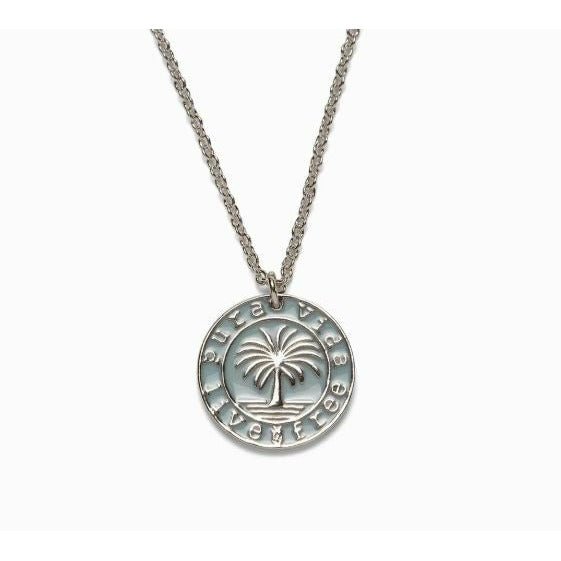 Pura Vida Medallion Necklace