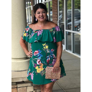 Gabriella Off The Shoulder Dress