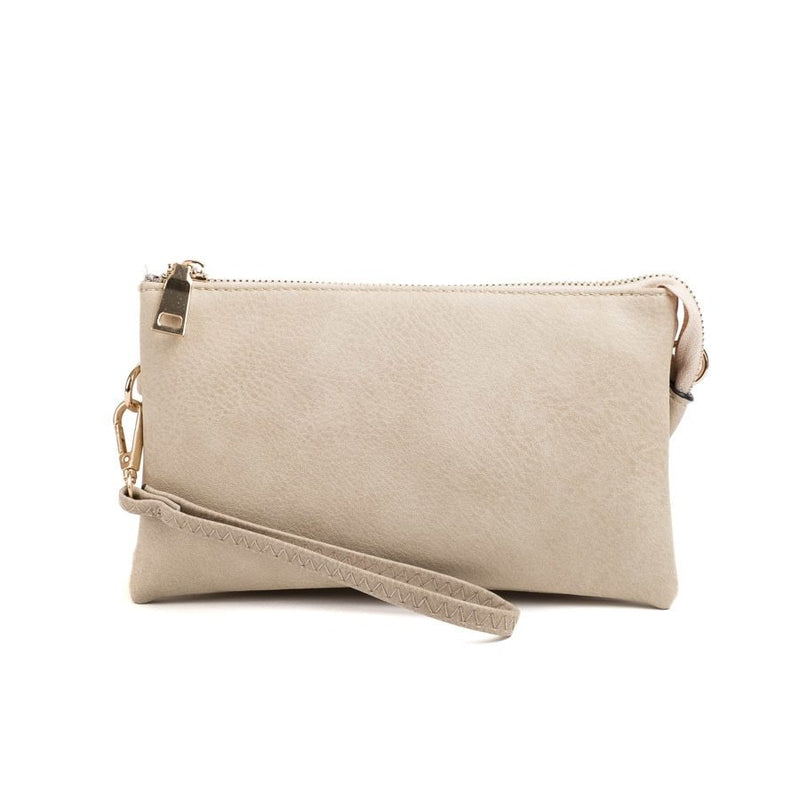 Ivory Wristlet Crossbody ($6 to monogram)
