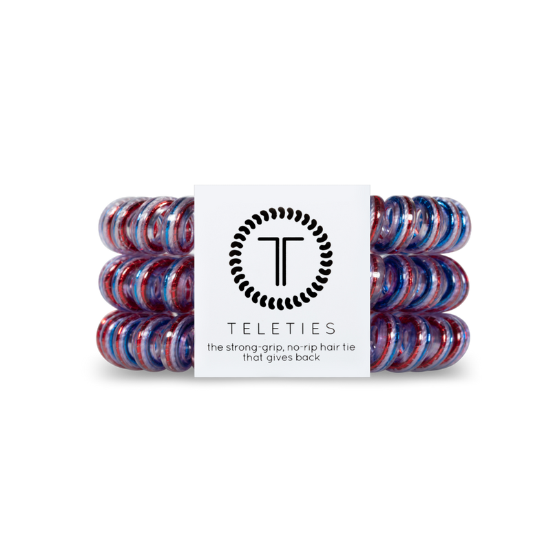 Teleties - Large Hair Ties - Cue the Sparklers