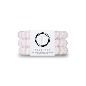 Teleties - Large Hair Ties - Rose Water Pink