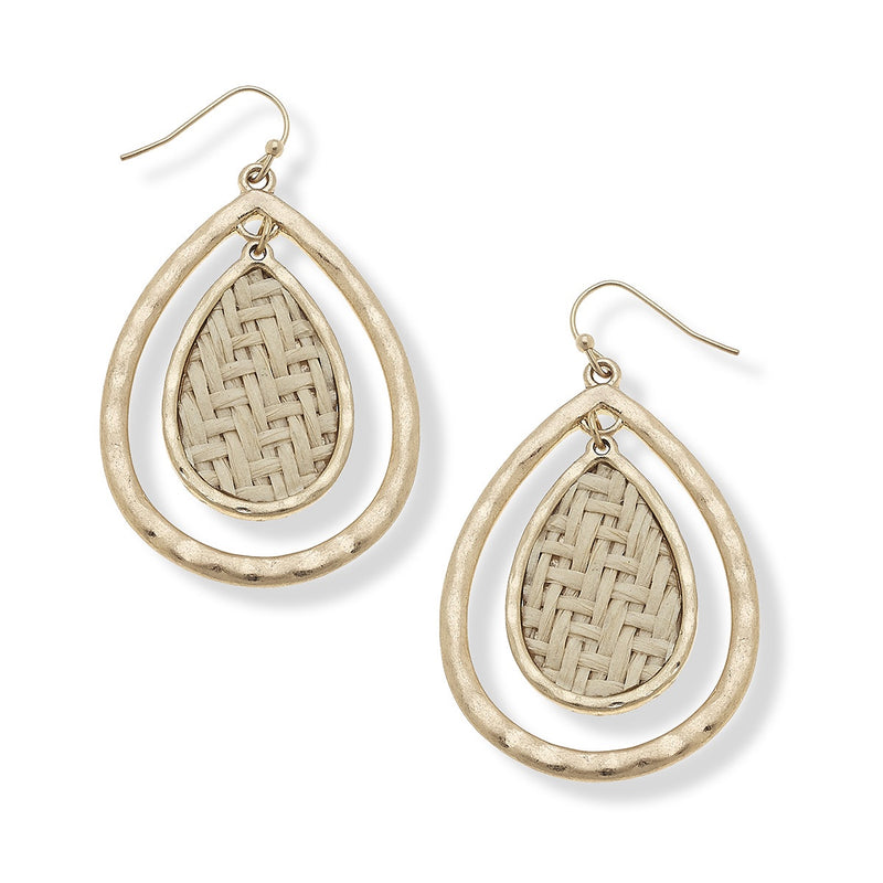 Lara Raffia Earrings