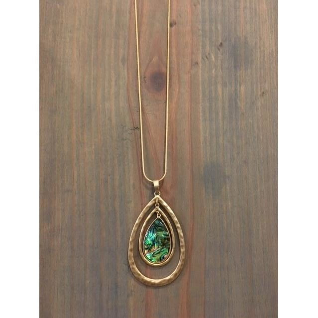 Aubrey Teardrop Necklace