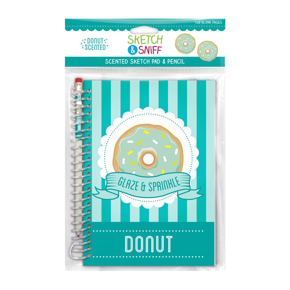 Sketch & Sniff Donut Scented Sketch Pad