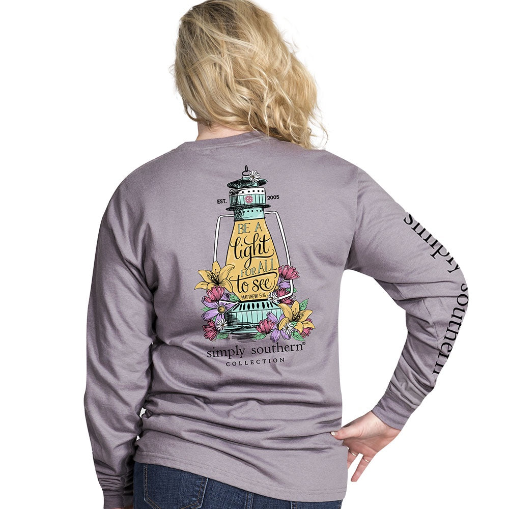 Light For All (Steel) Long Sleeve Simply Southern