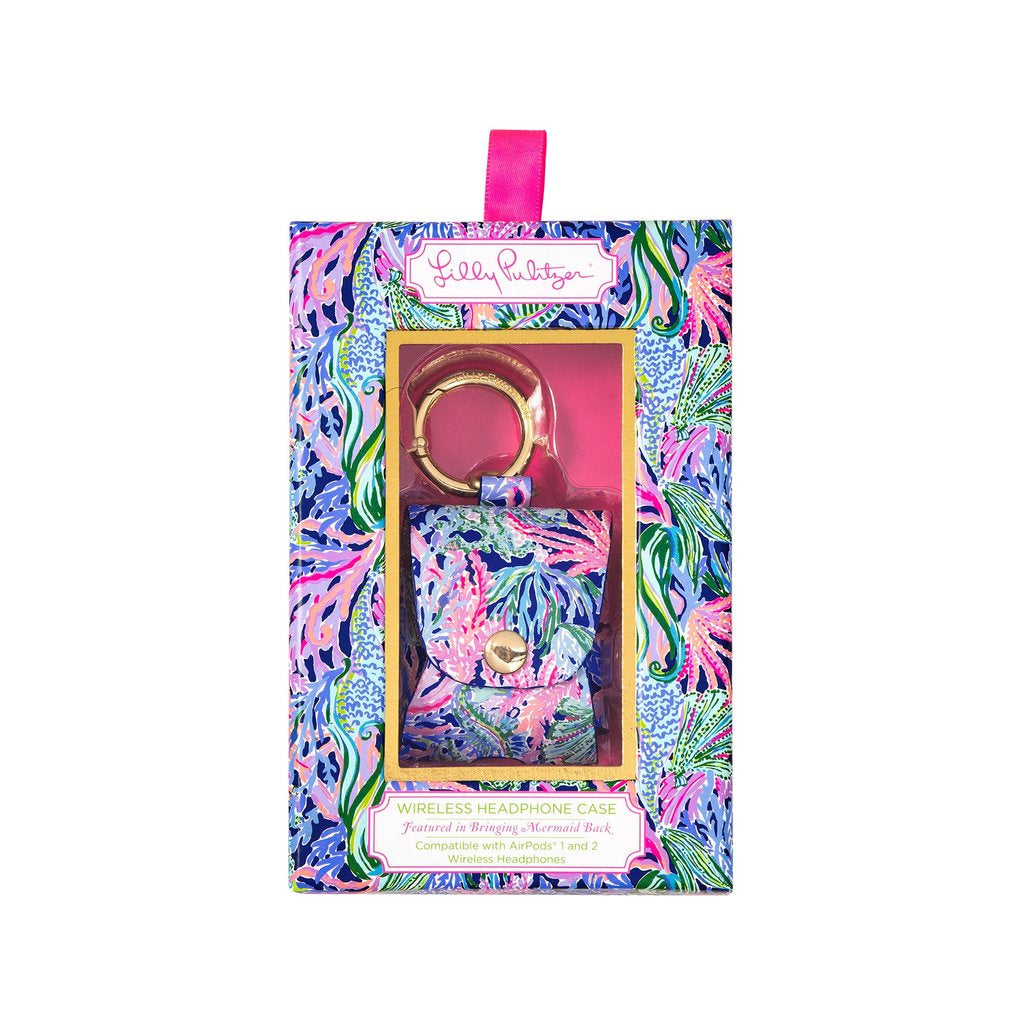 Lilly Pulitzer Wireless Headphone Case - Bringing Mermaid Back
