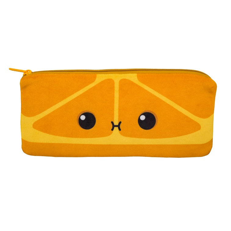 Cutie Fruities Pencil Pouch- Orange