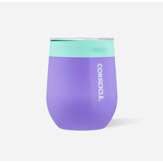 Stemless Corkcicle - Colorblock Mint/Berry