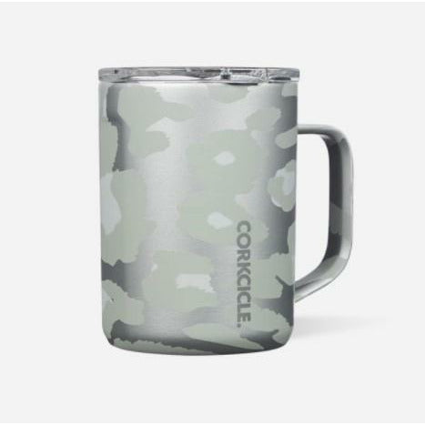 16 oz Coffee Mug - Snow Leopard
