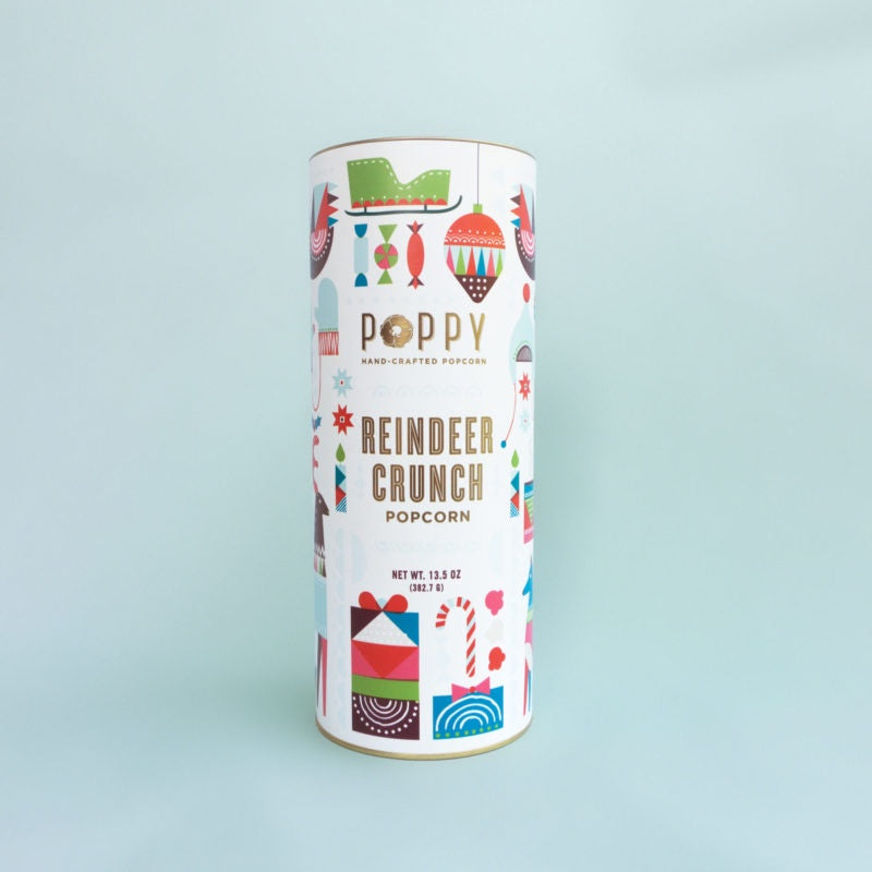 Poppy - Reindeer Crunch Holiday Cylinder