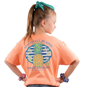 Youth Sweet (Peachy) Simply Southern Tee