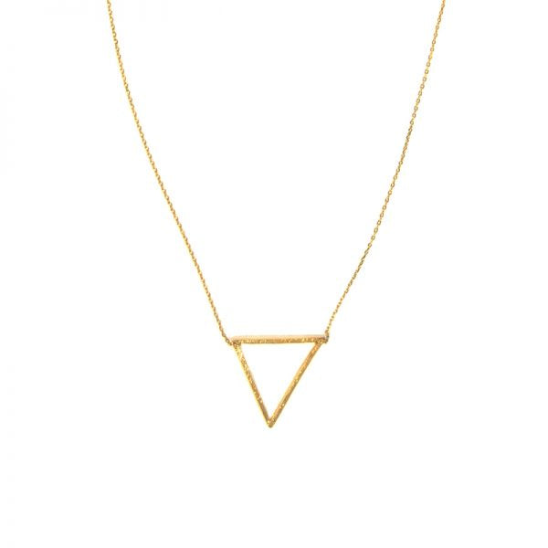 Triangle Necklace - Gold