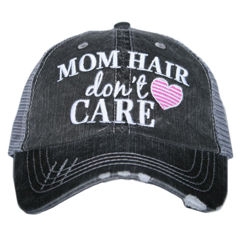 Mom Hair Don't Care Trucker Hat