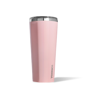 24 oz Corkcicle Tumbler - Rose Quartz
