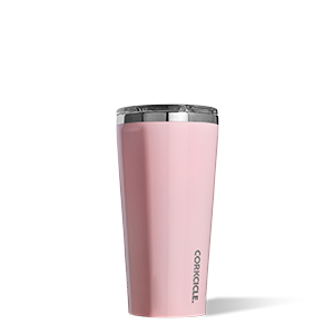 16 oz Corkcicle Tumbler - Rose Quartz