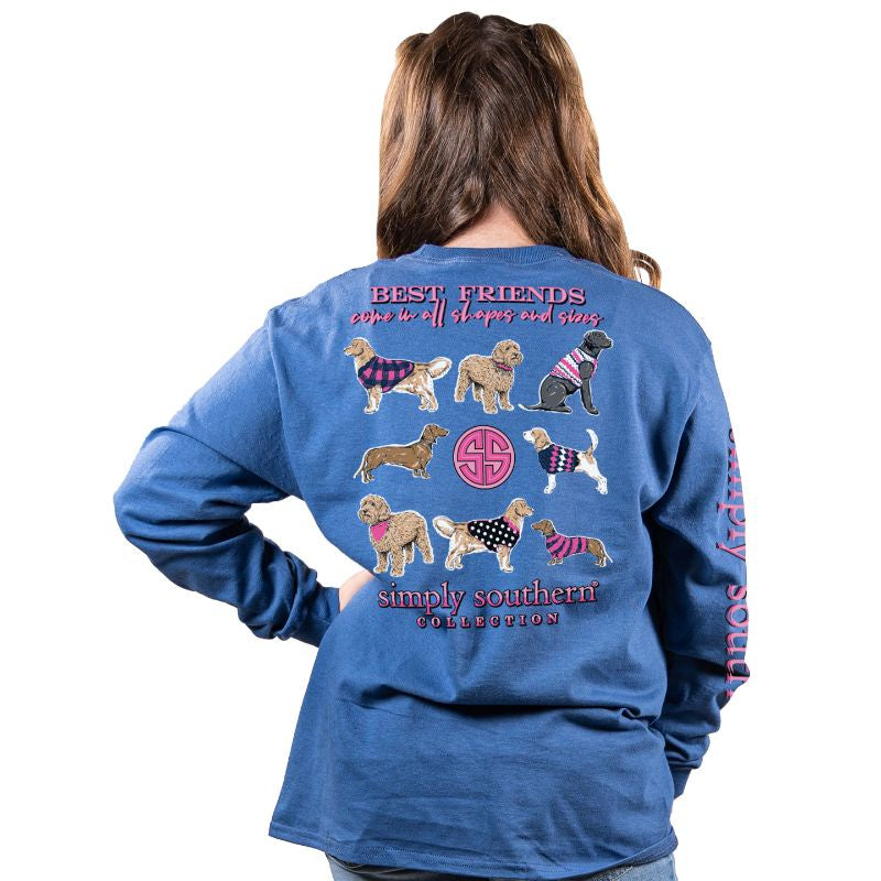Youth Best Friend (Moonrise) Long Sleeve Simply Southern Tee