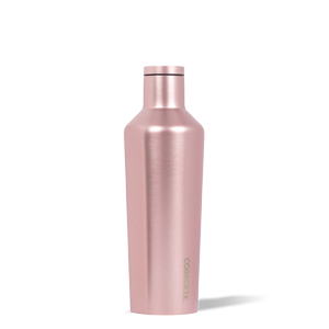 16 oz Corkcicle Canteen - Rose' Metallic