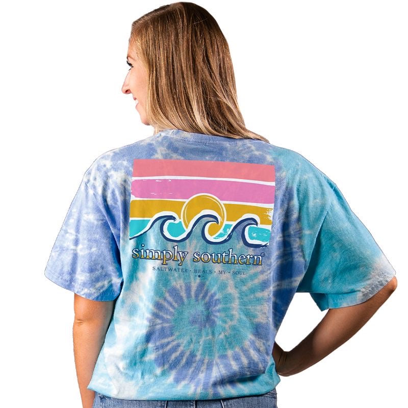 Saltwater (Tide) Simply Southern Tee