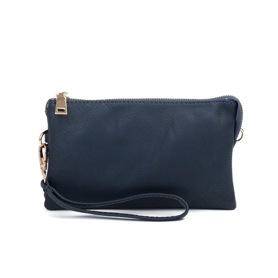 Navy Wristlet Crossbody ($6 to monogram)