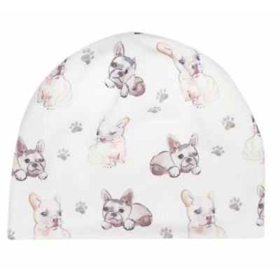 BANDED Baby Hat - Frenchie Fun