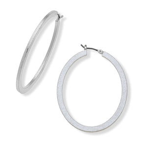 Kate Oval Hoop Earrings