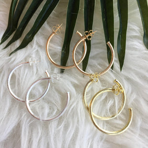 Sheila Fajl Petite Everybody's Favorite Hoop Earrings