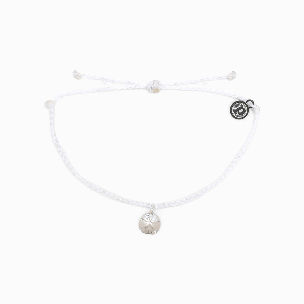 Sand Dollar Bitty Braided Bracelet