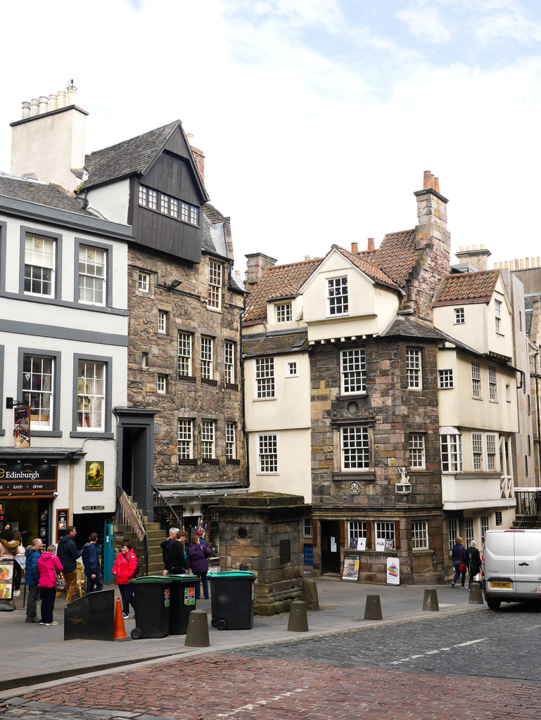 Edinburgh Map & Photo Diary