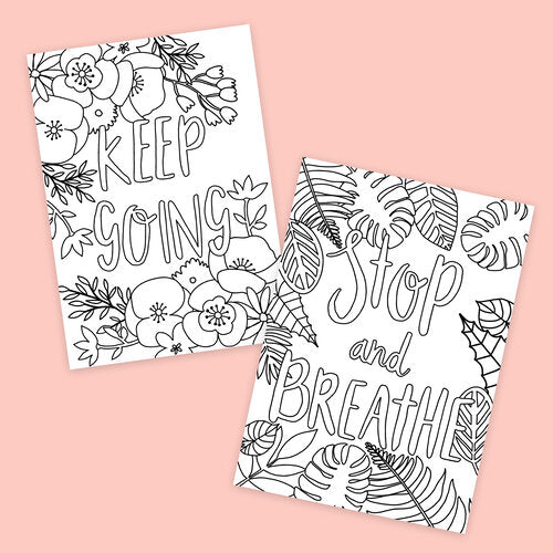 Free Colouring Sheets - Sarah Frances